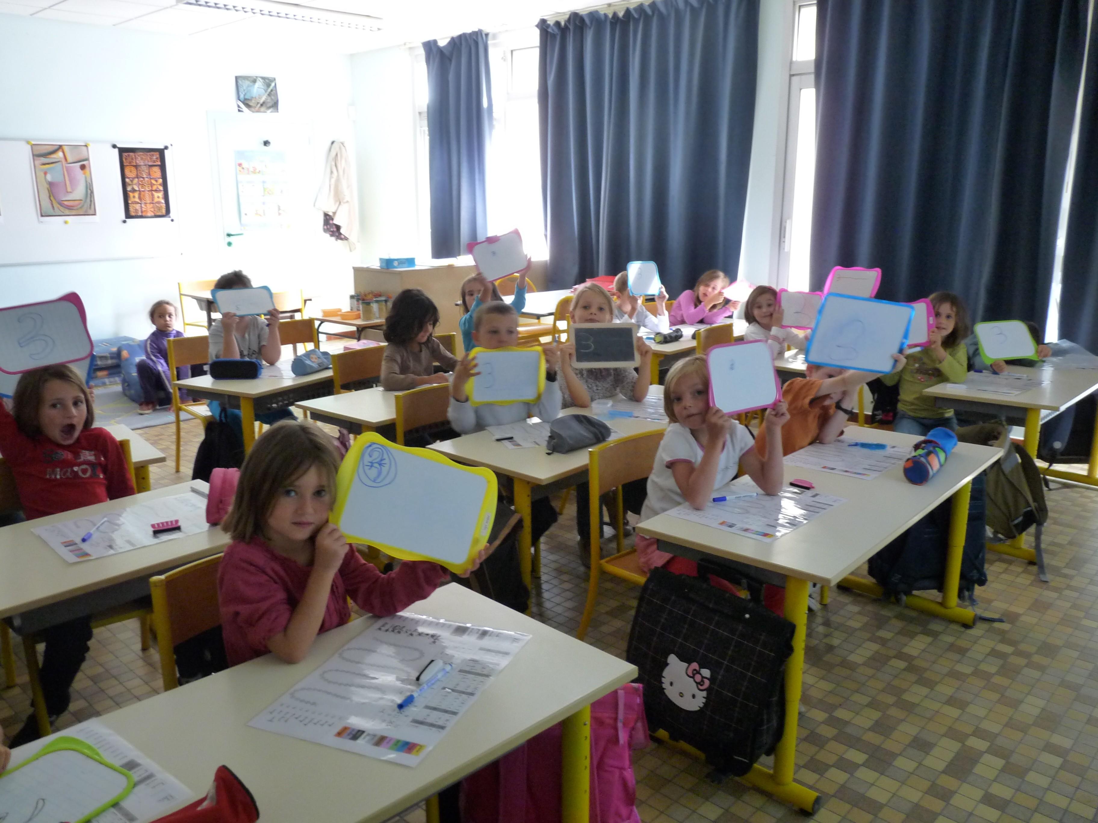 Ecole de rouziers de touraine une journ e avec les cp for Calcul classe energetique maison